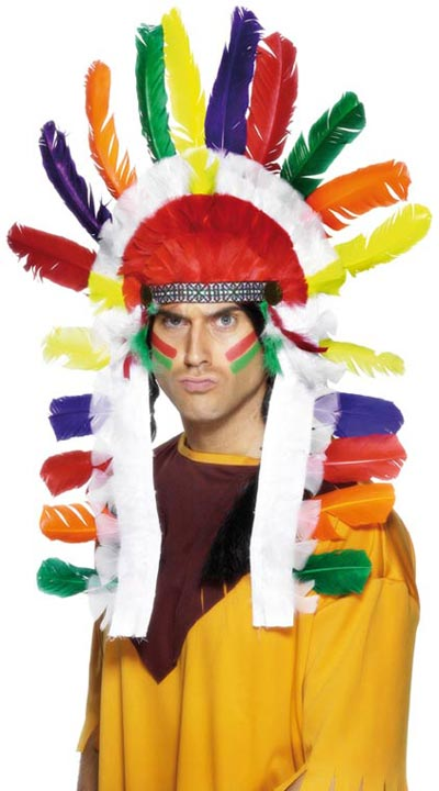 Mens-Indian-Headdress