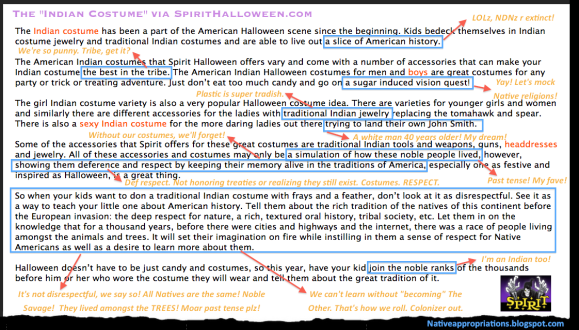 Spirit Halloween-Annotated