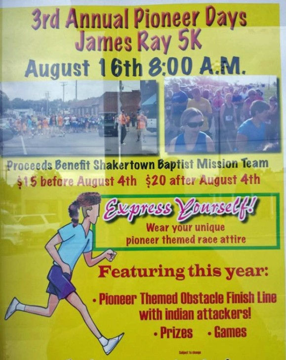 """James Ray """"Indian Attack"""" 5k: Family fun for everyone"""